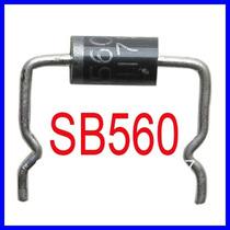 Diodo Sb560 - Sb 560 - Novo - Pronta Entrega