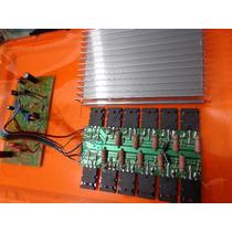 Placa Amplificador 1100w +dissipador / A1 Gradiente