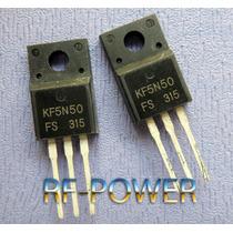 Lote 2 Peças Kf5n50fs Kf5n50 To220f Isolado Novo Original