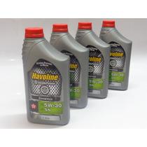 Oleo De Motor Havoline Sae 5w30 100% Sintético 4 Litros