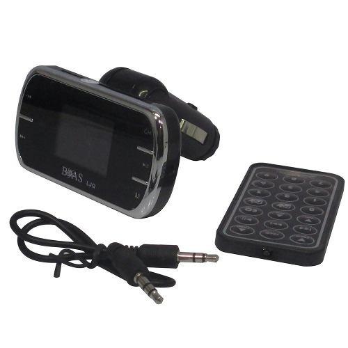 Transmissor Fm Modulador Mp3 Carro Veicular Wireless Sem Fio