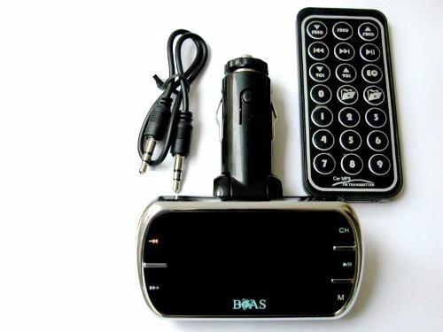 Transmissor Fm Veicular Mp3 Player Cartão Usb Navega Pastas
