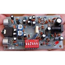 Kit Para Montar Transmissor De Fm Estéreo Pll Com Ci Bh1417
