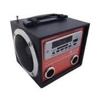 Radio Fm, Caixa Usb/sd Card /fm Radio-kayeuedz Yy-36