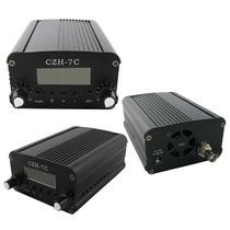 Transmissor Rádio Fm Pll Stereo Digital 7w - Pronta Entrega