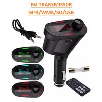 Transmissor Fm Mp3 Wma Veicular Usb/sd Wireless - Original