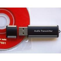 Transmissor Fm Usb Computador Notebook 76 108 Mhz Brindes