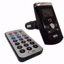 Transmissor Fm Veicular Wireless Mp3 Cartão Sd Usb Pen Drive