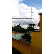 Antena Dipolo Para Transmissores Fm - Rádio Comunitária
