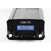 Transmissor Fm Cze-7c 7 Watts Novo Modelo Preço De Fábrica