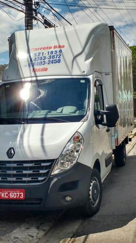 Transportes E Mudanças Frete Carreto Hr Master Bau Preço Bom
