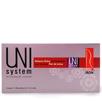Red Iron Profissional Uni System Restauração Capilar 12x15ml