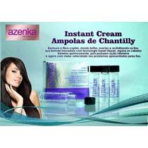 Ampolas De Chantilly Azenka Cx C/06un - Hidratação Profunda