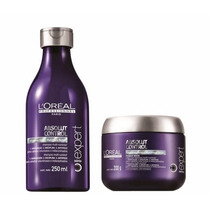 Loreal Absolut Control Shampoo 250ml + Máscara 200g