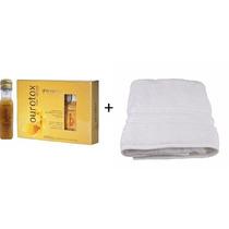 Minas Flor- Ourotox Capilar Kit Com 6 Ampolas De 20ml+toalha