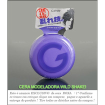 Gatsby Roxa Cera Modeladora Cabelos Wild Shake Japan * Brz
