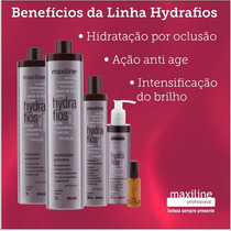 Kit Hydrafios Maxiline Profissional ( 5 Produtos) + Brinde
