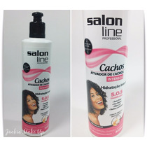 Ativador De Cachos Salon Line S.o.s 300g Hidratação Intensa