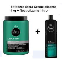 Creme Alisante Nazca Sfera Forte1kl +neutralizante 1000ml