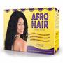 Kit Relaxante E Encacheamento Afro Hair Embelleze