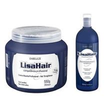 Kit Creme Alisante E Neutralizante Profissional Lisa Hair