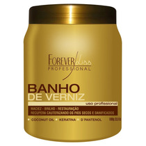 Forever Liss Banho De Verniz Hidratante Brilho Máximo 1kg *
