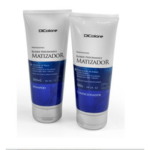 Matizador Dicolore Shampoo+condicionador 200 Ml + Brinde!