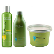 Loreal Force Relax Guanidina Kit Relaxamento Profissional