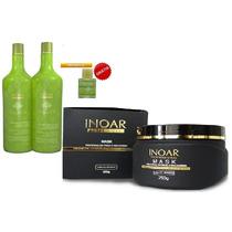 Inoar Argan Oil Kit Hidratação De Cabelos 3 Produtos