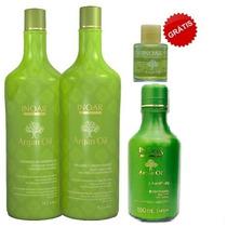 Inoar Argan Oil Hidratação - Kit 3 Produtos Grátis Um Óleo