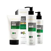 Aneethun Anti Queda Therapy Kit Shampoo+loção+bálsamo