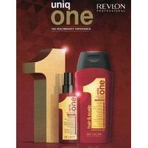 Uniq One Shampoo Hair & Scalp 300 Ml + Uniq One Leave-in 150