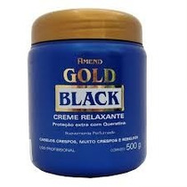 Amend Gold Black Cr Relaxante Com Queratina - 500g