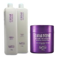 K.pro Tratamento Caviar Intense Shampoo+ Condicionador +mask