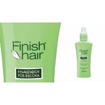 Botanica Finish Hair Finalizador Pos Escova Seda E Silicone