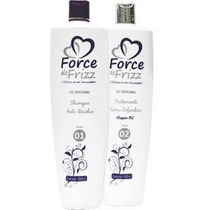 Force De Frizz Escova Semi Definitiva Alisa Afro S/ Relaxar