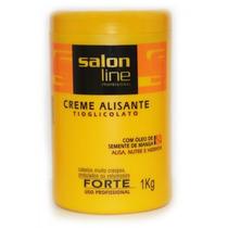 Alisante Tioglicolato Forte - 1 Kg - Salon Line Profissional