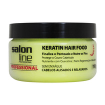Pomada Modeladora Keratin Hair Food 195g Salon Line
