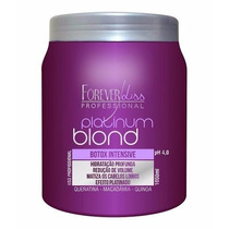 Forever Liss Platinum Blond Botox Matizador 1kg