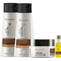 Kit Reconstrução Inteligente Ojon + 7 Minas Flor Home Care