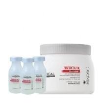 Mascara Loreal Fiberceutic 500g + 3 Ampolas Fiberceutic