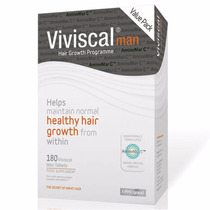 Viviscal Man 180 Compr. = 3 Meses De Tratam. Pronta Entrega