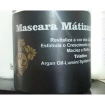 Mascara Matizante P/ Cabelos Loiros Wz Cosméticos 550ml