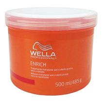 Wella Professionals Enrich Másc Hidrat Cabelos Grossos 500ml