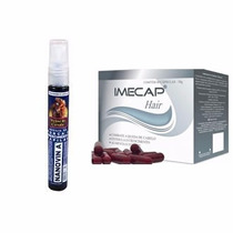 Kit Nanovin A E Imecap Hair - Estimula O Crescimento Capilar