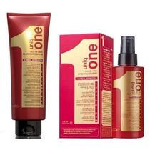 Kit Revlon Uniq One Red Leave In + Shampoo