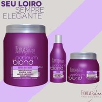 Forever Liss Botox + Shampoo Matizador +mascara Matizadora.