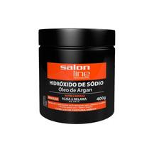 Creme Alisante Relaxante Hidróxido De Sódio Argan Regular