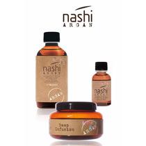 Nashi Argan Shampoo, Mascara , Oleo