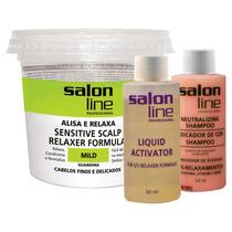 Alisante Profissional Salon Line Mild Guanidina Kit 215g